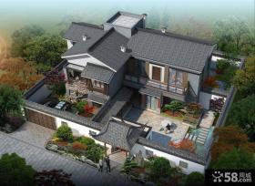 新中式院落别墅图片