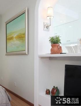田园风格墙面装饰画图片