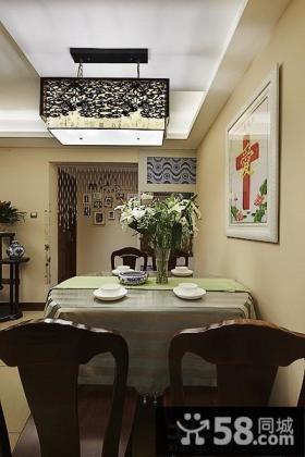 家装餐厅中式灯具图片