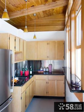 小阳台厨房装修效果图欣赏