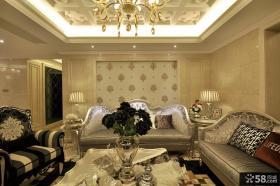 美式新古典风格客厅图片大全