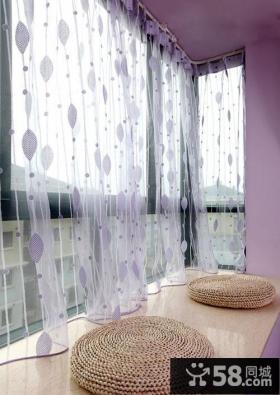 客厅飘窗装修效果图 清新亮丽的飘窗装修效果图