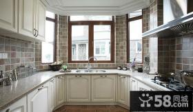 欧式厨房橱柜装修效果图大全2012图片