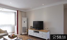 美式简约复式家居装饰设计效果图片