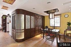 中式古典装修餐厅图片