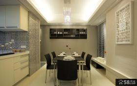 现代风格餐厅装修效果图大全图