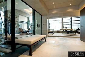 170万打造现代风格休闲区隔断别墅装修效果图大全2012图片