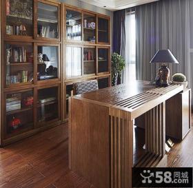 现代美式复式家装设计效果图