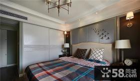 简欧风格卧室室内装修设计效果图片