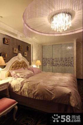 卧室圆形吊顶造型设计