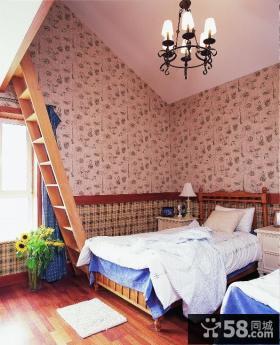 小复式儿童房装饰效果图欣赏
