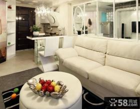 现代欧式小复式楼家装室内设计