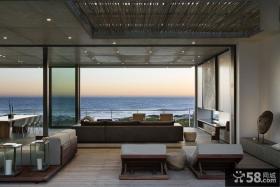 家装豪华复式风格阳台设计效果图