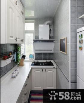简约风格厨房隔断柜设计效果图