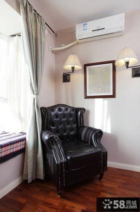 简约设计室内窗帘图片大全