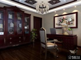 中式古典书房装修