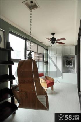 时尚法式家居阳台装修图片