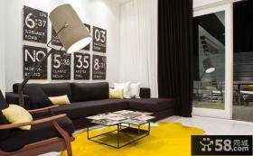 简约现代复式家居装饰效果图
