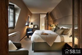 美式风格复式家装设计效果图