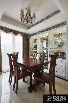 优质美式家居装修餐厅图片