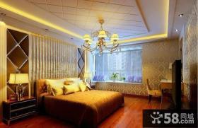 优质卧室石膏板吊顶图片