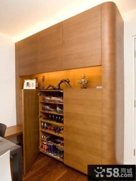 家庭实木鞋柜装修效果图大全2013图片