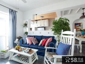 地中海风格复式家装设计效果图