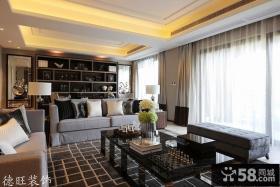 现代风格80平米小户型客厅装修效果图