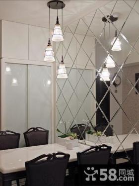 现代风格二居室餐厅普通家装图片