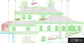 乡村别墅设计图纸效果图