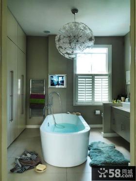混搭家庭卫生间图片欣赏大全