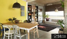 现代设计小户型餐厅室内装饰图片