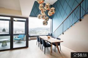 时尚现代复式装修住宅