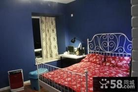 50平小户型卧室设计装修效果图大全2014图片