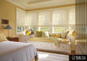 简约风格时尚卧室窗户图片大全