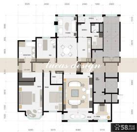 别墅室内设计平面图大全
