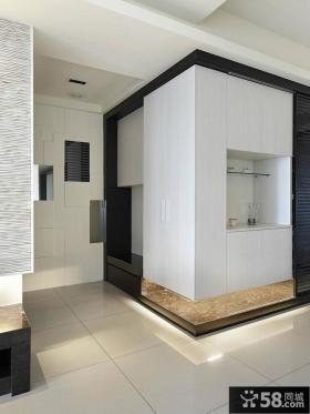 简约式家居风格玄关装修设计图片欣赏