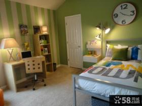 美式乡村装修风格儿童房图片
