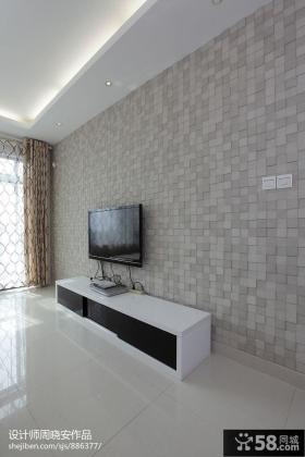 简约风格瓷砖背景墙装修效果图