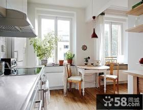 80平小户型家庭餐厅装修效果图大全2012图片