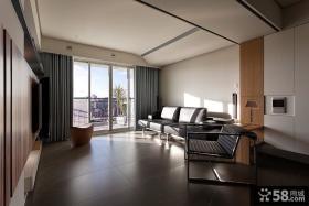 89平米小户型现代客厅装修效果图大全