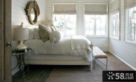 质朴简约的北欧风格装修效果图卧室图片