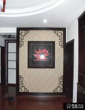 中式玄关屏风设计