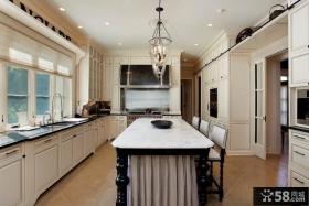 欧式风格厨房整体橱柜装修图片