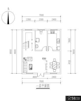 复式房屋设计图