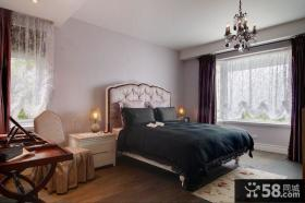 温馨简欧风格卧室室内图片