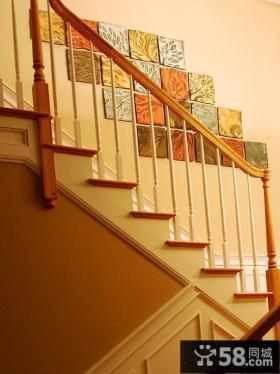 楼梯间装饰墙效果图