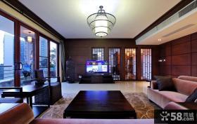 中式客厅装修效果图片大全