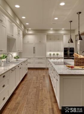 厨房欧式橱柜装修效果图片