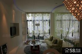 80平小户型客厅装修设计效果图大全2013